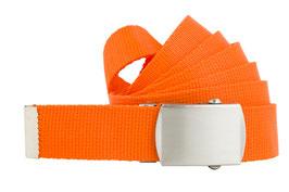 Bandgürtel 3cm orange