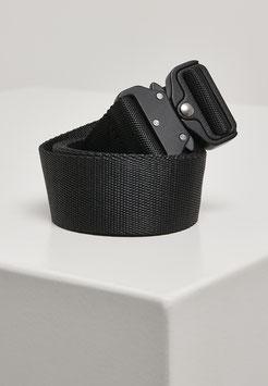 Urban Classics Wing Buckle Belt Taktischer Gürtel schwarz mit Cobra Schließe