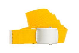 Bandgürtel 3cm gelb
