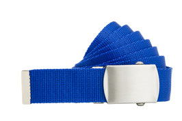 Bandgürtel 3cm royal blau