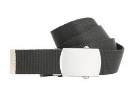 Bandgürtel 3cm schwarz