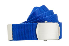 Bandgürtel 4cm royal blau