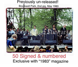 """1983 + Limited, numbered & Signed 10"""" x 8"""" Brockwell Print"""