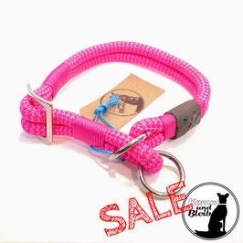 SALE | Halsband Zugstop Premium PP-Seil Hotpink