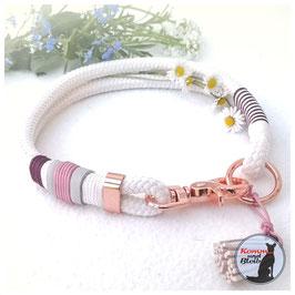 Halsband Seil mit Scherenkarabiner