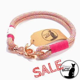 SALE | Halsband Premium PP-Seil - rose/pink