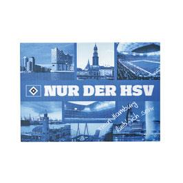 HSV Postkarte 3D Hamburg