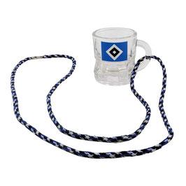 HSV Schnapsglas mit Kordel 2er Set