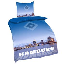HSV Bettwäsche Hamburger Hafen