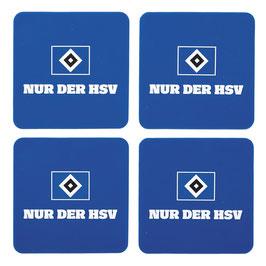 HSV Untersetzer 4er Set
