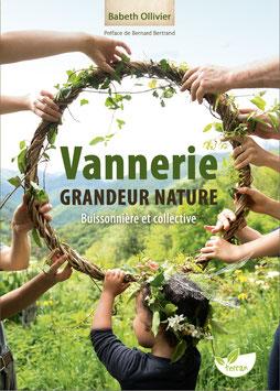 """Livre """"Vannerie grandeur nature – Buissonnière et collective"""""""