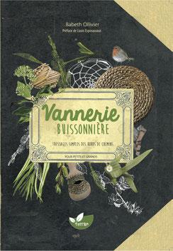 """Livre """"Vannerie buissonnière, Tressages simples des  bords de chemins"""""""
