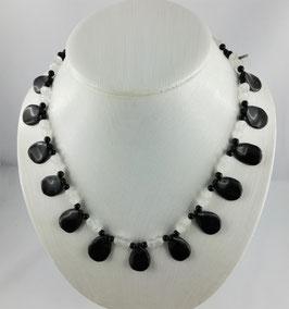 Onyx (Chalcedon) - Halskette