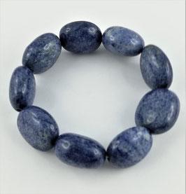 Blauquarz-Armband