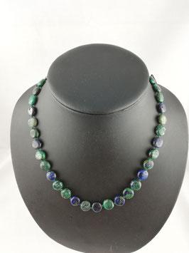 Azurit-Malachit - Halskette