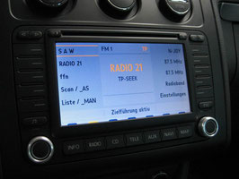 Aluringe für Navigation MFD 2 / RNS 2 - 1050