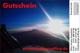 90 Minuten Rundflug über Leipzig oder Ihre Wunschroute, inkl. kurze Einweisung und im Streckenflug selber steuern