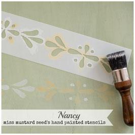 """Stencil """"Nancy"""""""