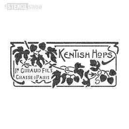 "Schablone ""Kentish Hops"""