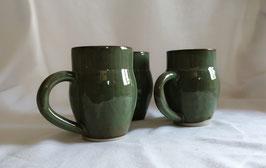 mug bleu/vert