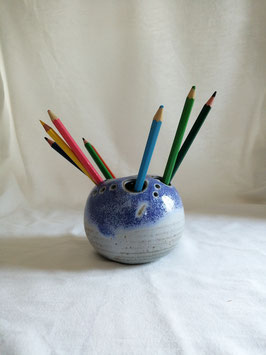 Boule à crayon 2 Bleu