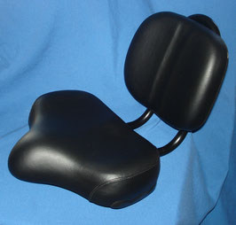 COMFORT SADDLE WITH BACK REST
