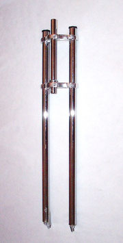 Hardened CHROME Forks w/Alloy Yokes