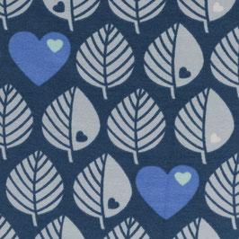 Sweat ByGraziela Blätter - leafs blau