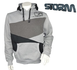 Storm Hoodie Sportgrau/Grau/Schwarz