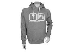 Basic Hoodie Grey/White