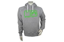 Basic Hoodie Grey/Green