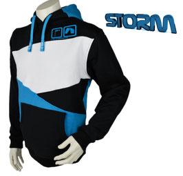 Storm Hoodie Schwarz/Blau