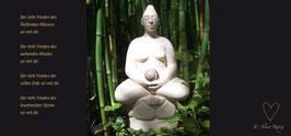 """Postkarte """"Buddhine"""""""