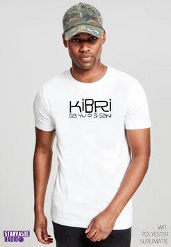 T-shirt Wit KIBRI DA YU NR009