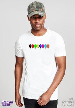 T-shirt Wit FISTERI NR007