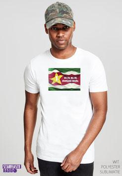 T-shirt Wit MI PA NR021