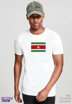 T-shirt Wit VLAG NR013