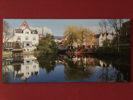 Leinwand 100x50 cm, Hansestadt Buxtehude, Art. #BUX045