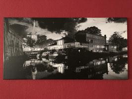 Leinwand 100x50 cm, Hansestadt Buxtehude, Art. #BUX040