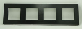 Frame voor 4 schakelaars of componenten