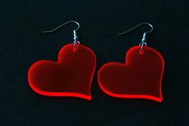 """Ohrringe / earrings """"Heart"""" (Paar/pair)"""
