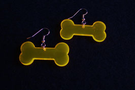 """Ohrringe / earrings """"Bone"""" (Paar/pair)"""