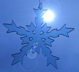 """Eiskristall / ice crystal """"Anja"""" 14 cm"""