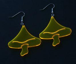 "Ohrringe / earrings ""GOAMushroom"" (Paar/pair)"