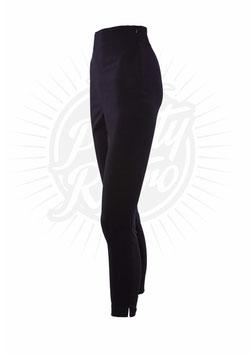 50s Capri Pants - Black