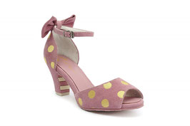 Lola Ramona Shoes Ava Baby Pink /Curry
