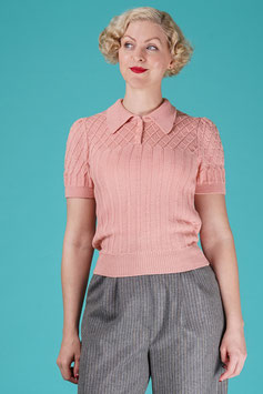 The TipTop Knit Top - Blush
