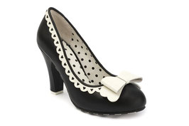 Lola Ramona Shoes black/cream