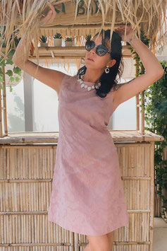 Chup Chup 60s Twiggy Dress - Vintage Rose (Limited Summer Edition)