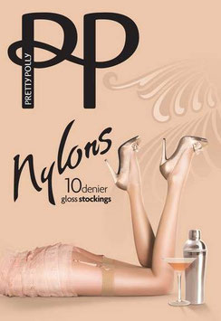 Pretty Polly Nylons Gloss Stockings - Nude Sherry
